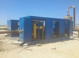 Газовая дожимающая компрессорная станция СКС 50/0,7-3