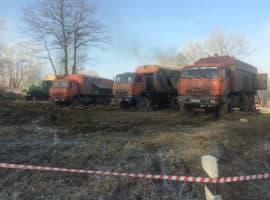 (Русский) Вытеснение воды из магистрального трубопровода Транснефти